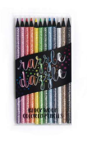 Creioane colorate Razzle Dazzle Colored Pencils - Set de 12
