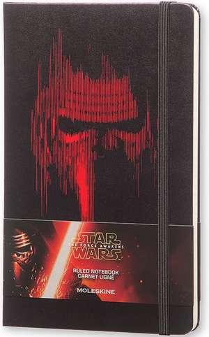 Moleskine Star Wars, Agenda, Episode VII Kylo Ren Editie Limitata