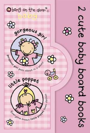 2 Cute Baby Board Books for Girls