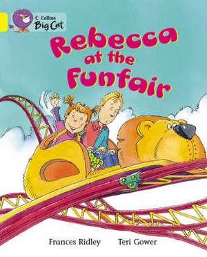 Rebecca at the Funfair de Frances Ridley