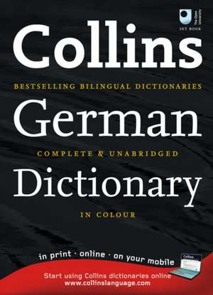 Collins German Dictionary imagine