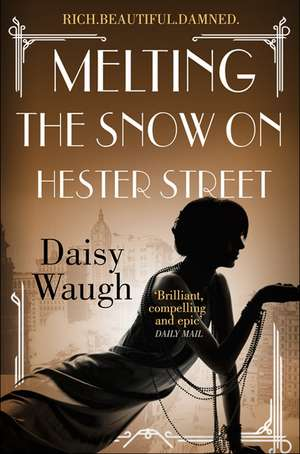 Melting the Snow on Hester Street de Daisy Waugh