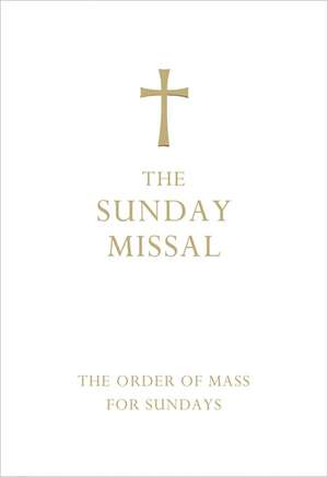 The Sunday Missal (Deluxe White Leather First Communion Gift edition)
