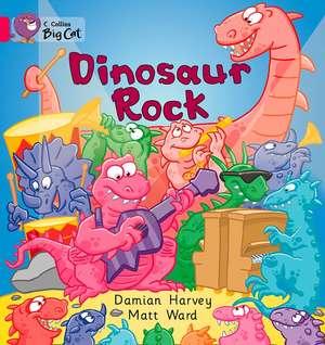 Dinosaur Rock Workbook de Damian Harvey