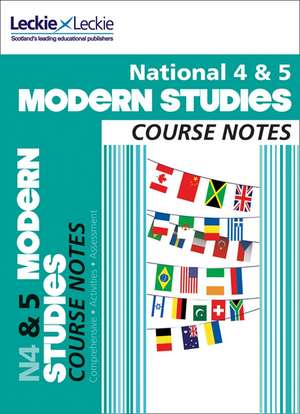 National 4/5 Modern Studies Course Notes