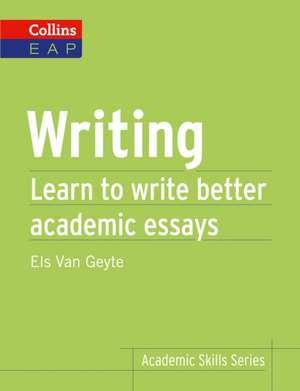 Writing de Els Van Geyte