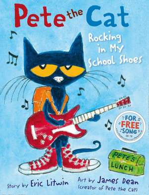Pete the Cat Rocking in My School Shoes imagine