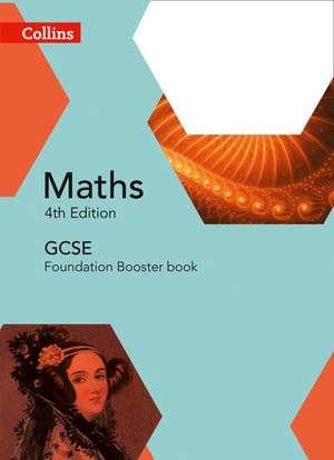 Collins Gcse Maths -- Edexcel Foundation Booster Workbook:  Targetting Grades 4/5 de Collins UK