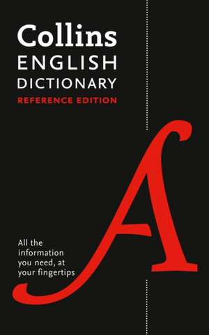 Collins English Reference Dictionary de  Collins Dictionaries