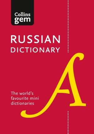 Collins Russian Gem Dictionary de  Collins Dictionaries