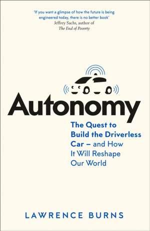 Autonomy de Lawrence D. Burns