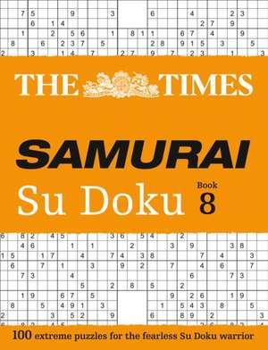 The Times Samurai Su Doku 8 de  The Times Mind Games