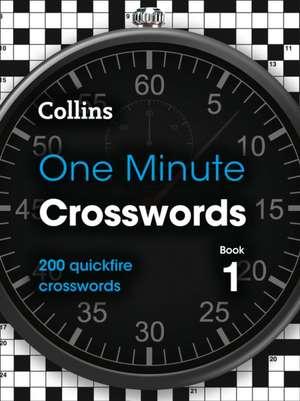 Collins One Minute Crosswords Book 1 de Collins Puzzles