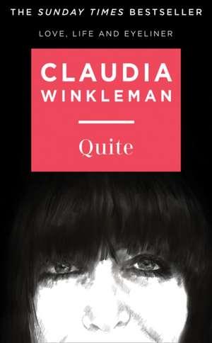 Quite de Claudia Winkleman