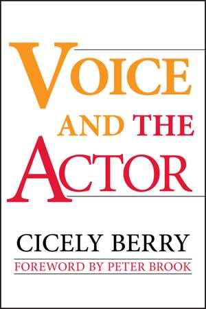 Voice and the Actor imagine