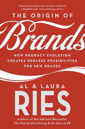 The Origin of Brands: How Product Evolution Creates Endless Possibilities for New Brands de Al Ries