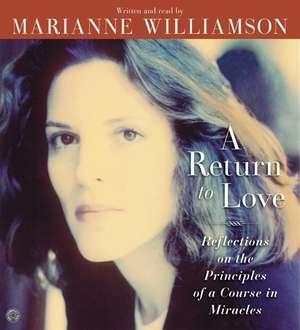 A Return to Love CD de Marianne Williamson