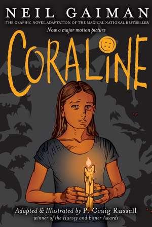 Coraline Graphic Novel de Neil Gaiman
