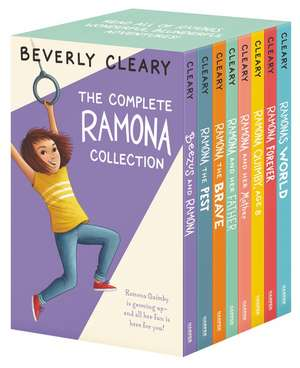 The Complete Ramona Collection: Beezus and Ramona, Ramona and Her Father, Ramona and Her Mother, Ramona Quimby, Age 8, Ramona Forever, Ramona the Brave, Ramona the Pest, Ramona's World de Beverly Cleary