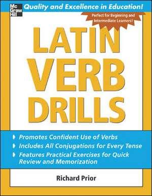 Latin Verb Drills de Richard Prior