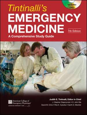 Tintinalli, J: Tintinalli's Emergency Medicine: A Comprehens