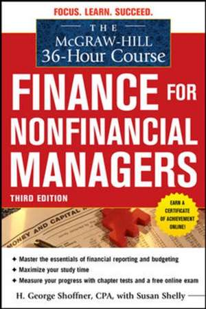 The McGraw-Hill 36-Hour Course: Finance for Non-Financial Managers 3/E de H. George Shoffner