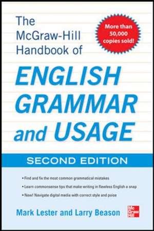 McGraw-Hill Handbook of English Grammar and Usage, 2nd Edition de Mark Lester