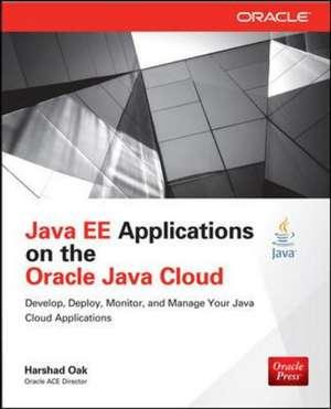 Java Ee Applications On Oracle Java Cloud