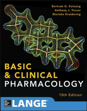 Basic and Clinical Pharmacology 13 E de Bertram Katzung