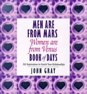 Men Are From Mars, Women Are From Venus Book Of Days imagine