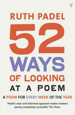 52 Ways Of Looking At A Poem imagine