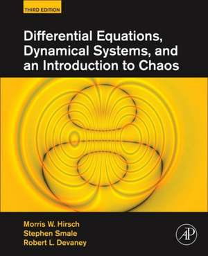 Differential Equations, Dynamical Systems, and an Introduction to Chaos imagine