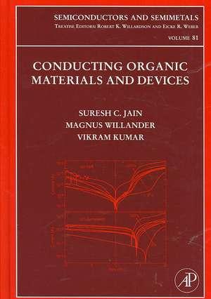 Conducting Organic Materials and Devices de Suresh C. Jain