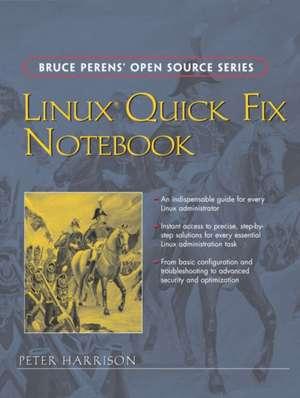 Linux Quick Fix Notebook de Peter Harrison