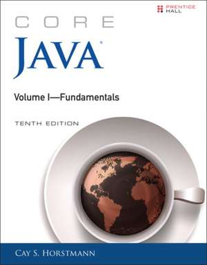 Core Java, Volume I