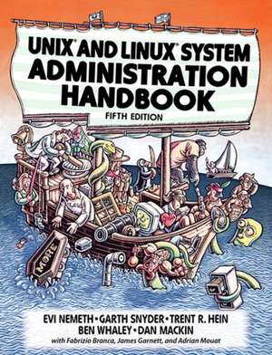 Unix and Linux System Administration Handbook imagine