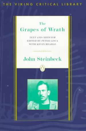 The Grapes of Wrath:  Text and Criticism de John Steinbeck
