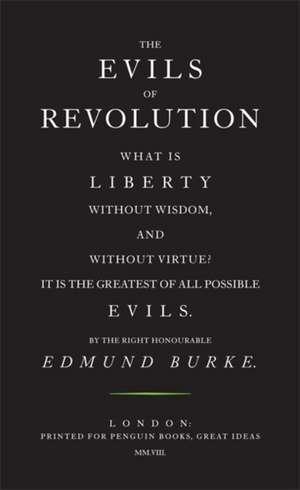 The Evils of Revolution imagine