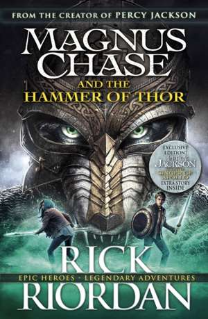 Magnus Chase and the Hammer of Thor (Book 2) de Rick Riordan