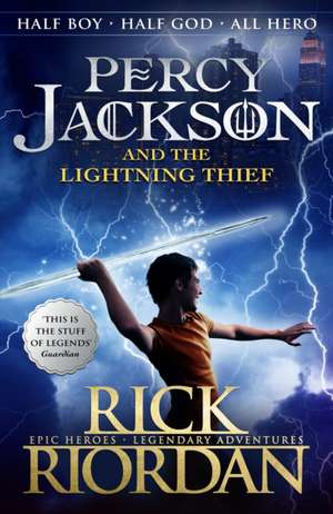 The Lightning Thief : Percy Jackson and the Olympians vol 1 de Rick Riordan