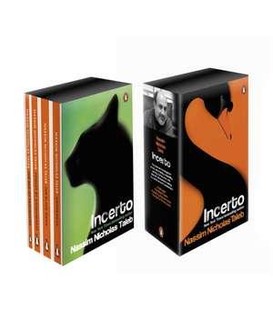 Incerto Box Set: Antifragile, The Black Swan, Fooled by Randomness, The Bed of Procrustes de Nassim Nicholas Taleb