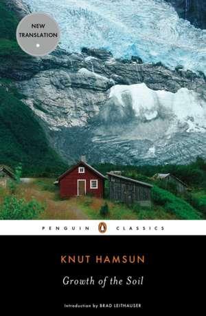 Growth of the Soil de Knut Hamsun