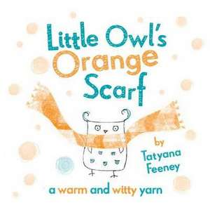 Little Owl's Orange Scarf