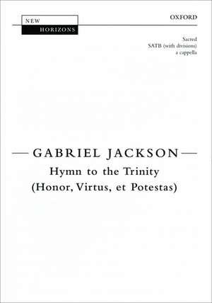 Hymn to the Trinity (Honor, Virtus, et Potestas) de Gabriel Jackson