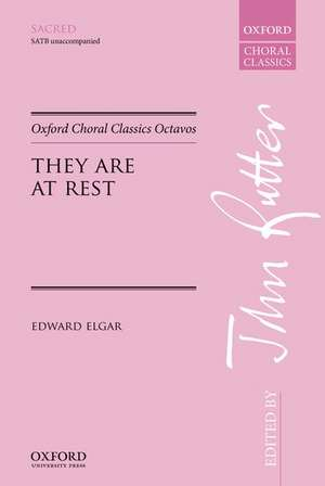 They are at rest de Edward Elgar