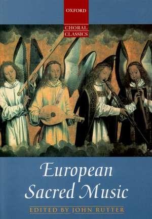 European Sacred Music de John Rutter