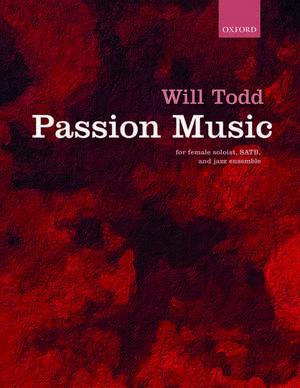 Passion Music de Will Todd