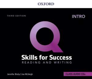 Q: Skills for Success: Intro Level: Reading and Writing Audio CDs de Jenny Bixby