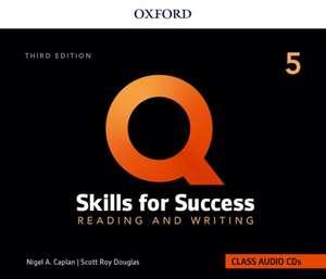 Q: Skills for Success: Level 5: Reading and Writing Audio CDs de Nigel Caplan