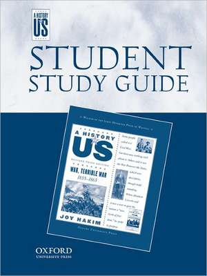 War, Terrible War Middle/High School Student Study Guide, a History of Us